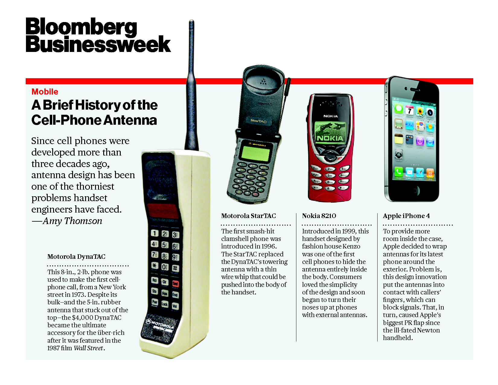 the history and evolution of the cell phone The first mobile phone invented for practical use was by a motorola employee called martin cooper who is widely considered to be a key player in the history of mobile phones.